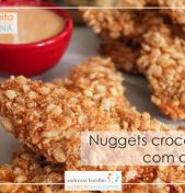 Nuggets crocante com coco